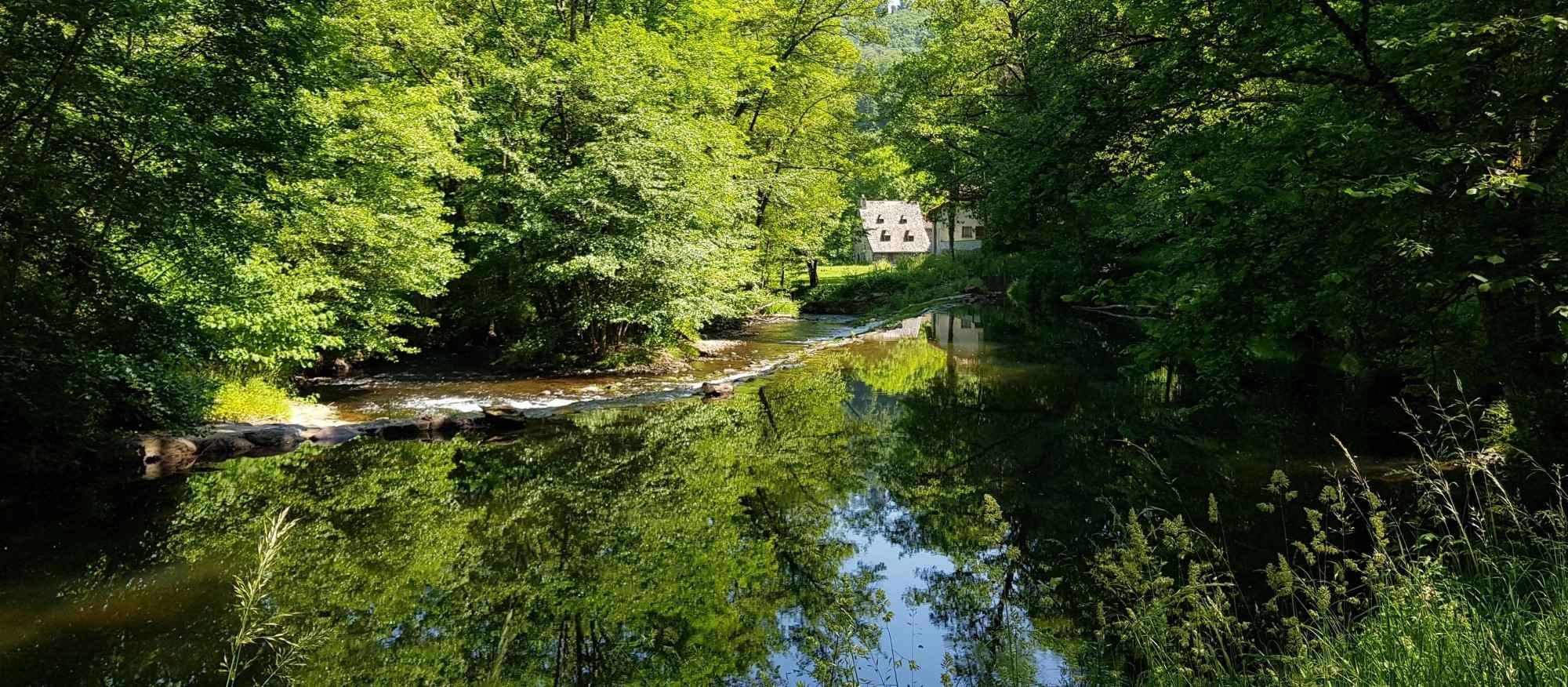 Le Moulin de Cabrol -Le Seuil de La Pradelle